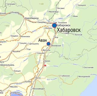 Лучегорск на карте России Где находится Лучегорск